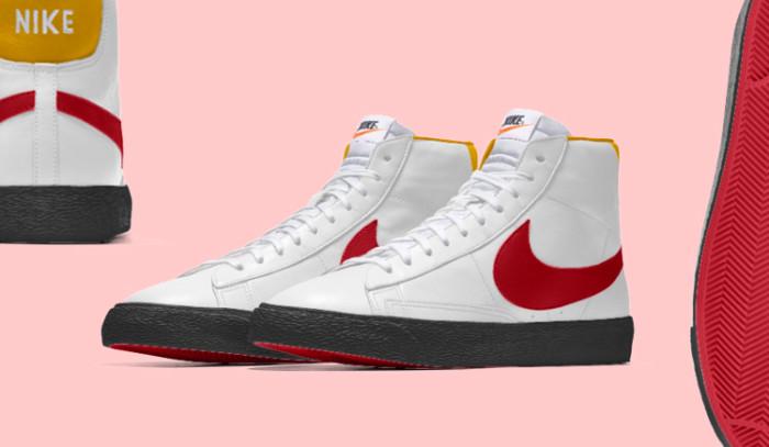 Diseña tus propias Nike Blazer Mid By You y quédate con todos!