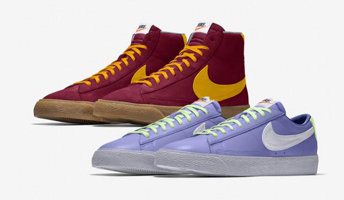Todo lo nuevo de las Nike Blazer By You, personalización a otro nivel!