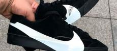 Nike añade el swoosh Oversize a las Nike Blazer City Low XS