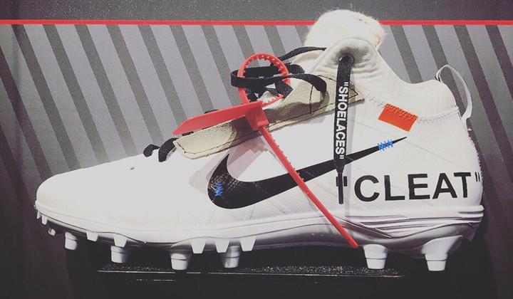 "Nike Cleats x Mache Customs ""OFF-WHITE"""