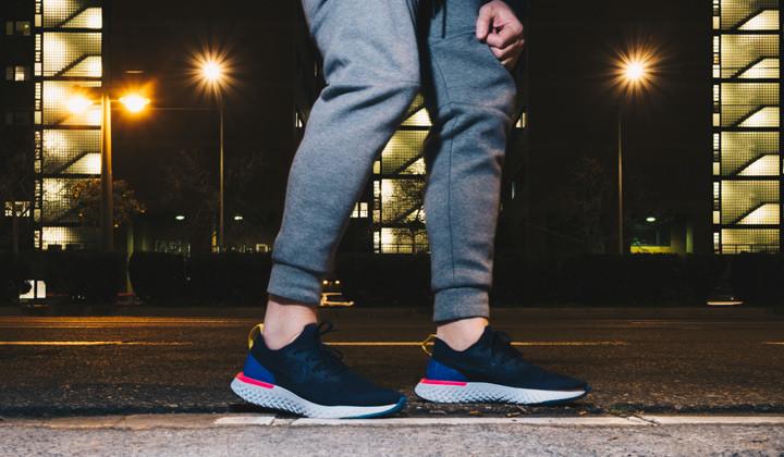 nike-epic-react-on-feet-blue-running