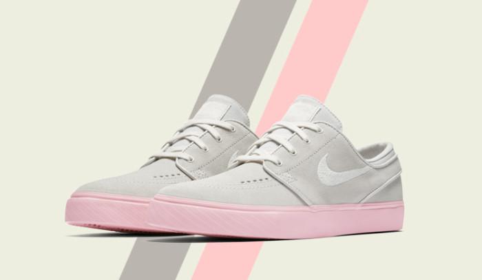 Un clásico renovado con clase: Nike Zoom Stefan Janoski con suela chicle.