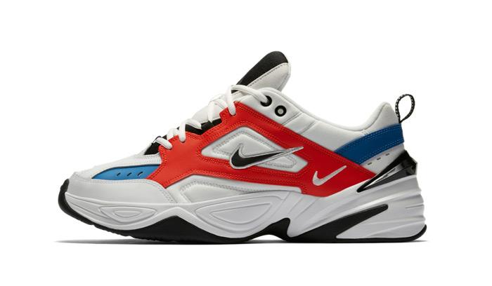 Nike M2K Tekno BlancasNegras Rojas AV4789 104