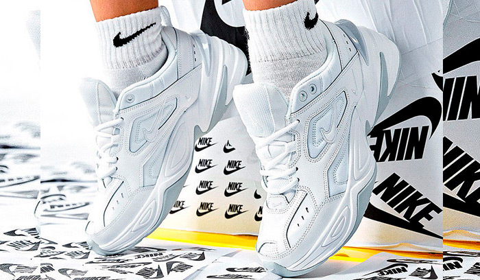 Son las Nike M2K Tekno Blancas el nuevo básico?