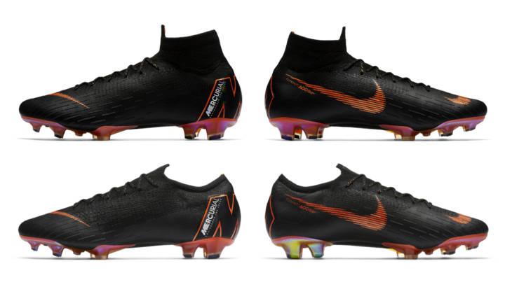 """huge discount ee34f 35f12 Acabado """"all black"""" lo último de Nike Mercurial 360"""