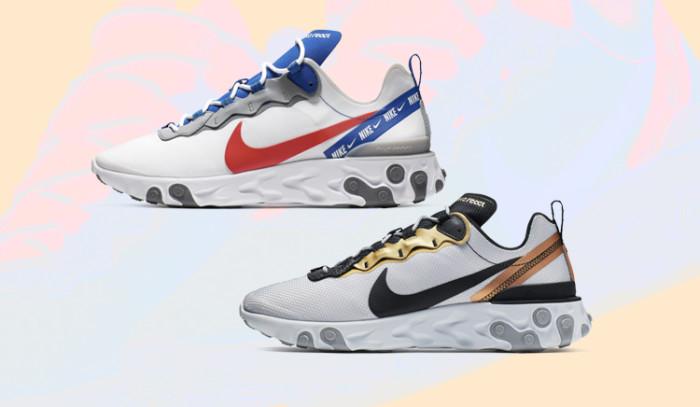 Llegan dos nuevos colorway para las Nike React Element 55