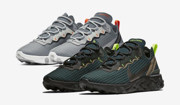 Se filtran las nuevas Nike React Element 55 Grid