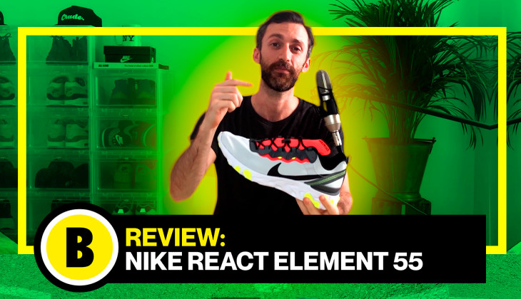 Backseries TV: Review Nike React Element 55