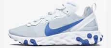 Nike React Element 55 Racer Blue