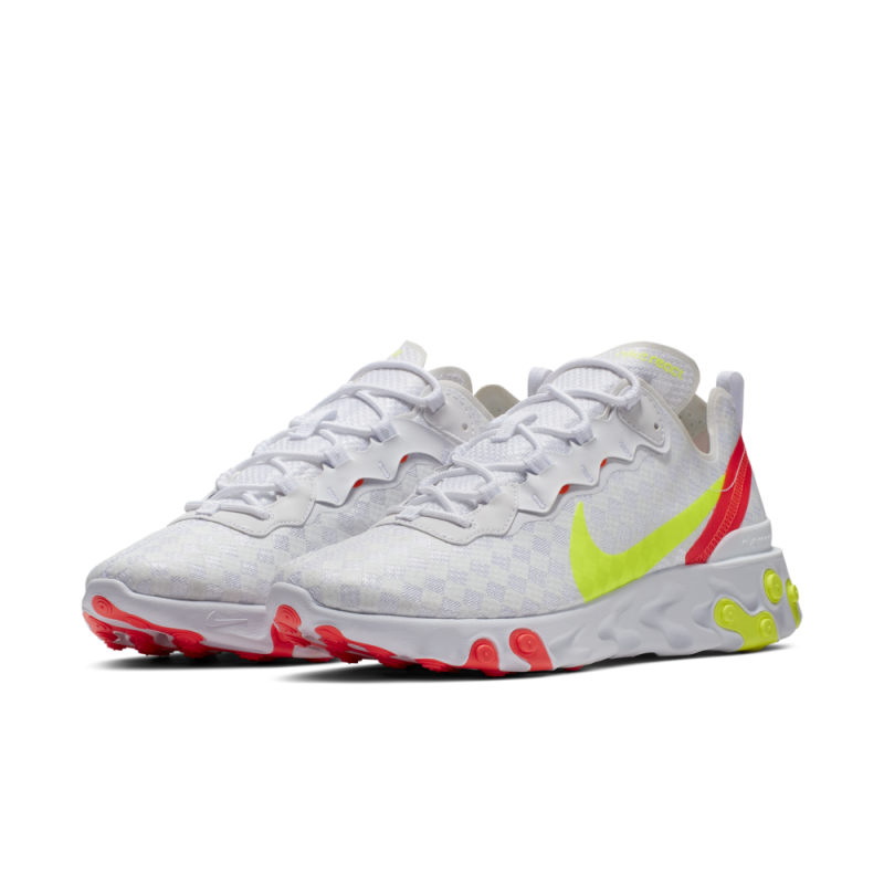 Nike React Element 55 Infrared Volt