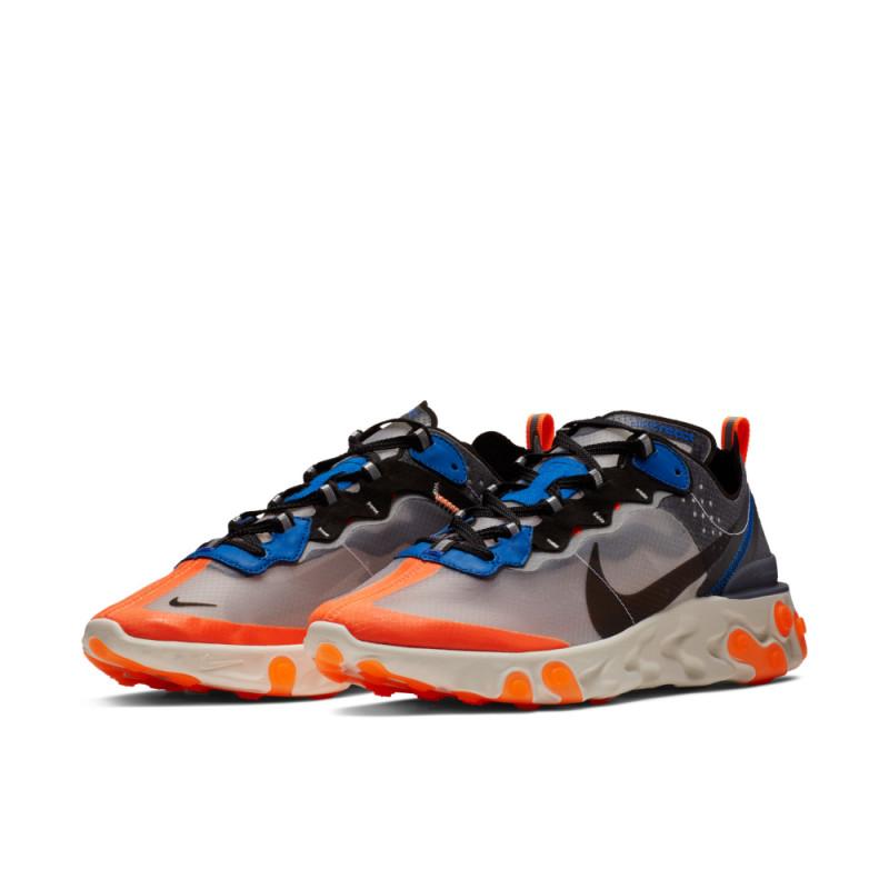 Nike React Element 87 Blue Orange