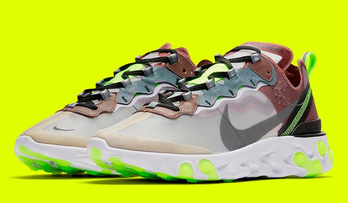 Nuevas Nike React Element 87 Desert Sand