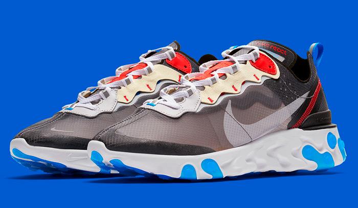 Nuevas Nike React Element 87 Dark Grey