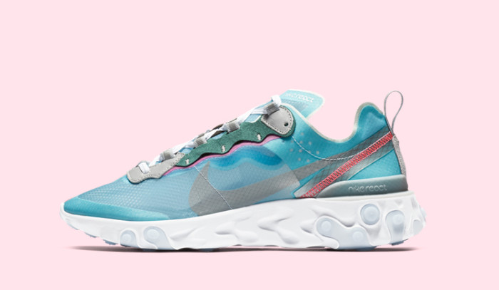 Las Nike React Element 87 Royal Tint caen este 15 de febrero