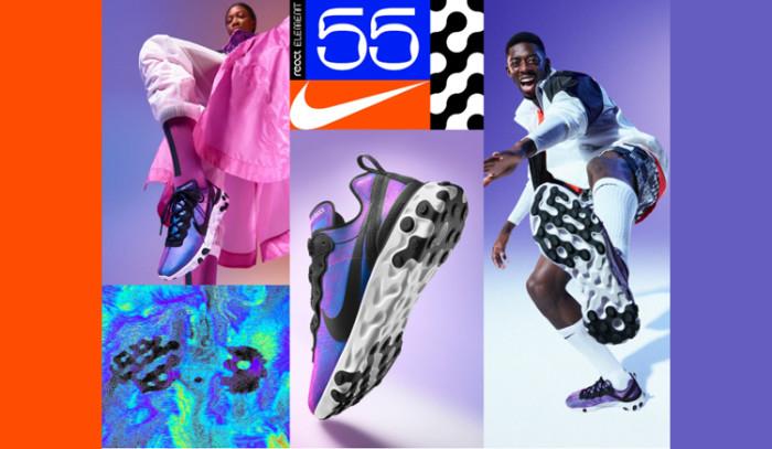 Ya disponibles 5 nuevos colores de las Nike React Element 55!