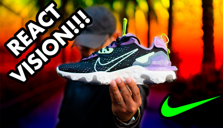 BackseriesTv: Nike React Vision Review – Mejor que las Nike React Element??