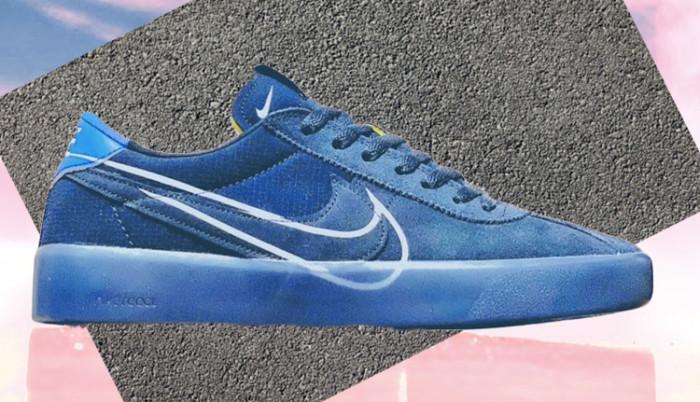 No hay Olimpiadas pero tenemos Nike Sb Bruin React Blue Flame