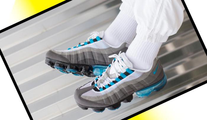Nuevo híbrido a la vista: Nike Air Vapormax 95 Neo turquoise