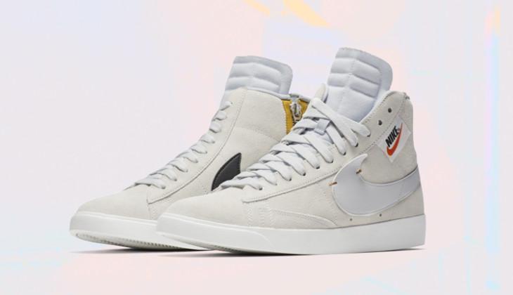 Nike WMNS Blazer Rebel Mid 'Off White'   BQ4022 101