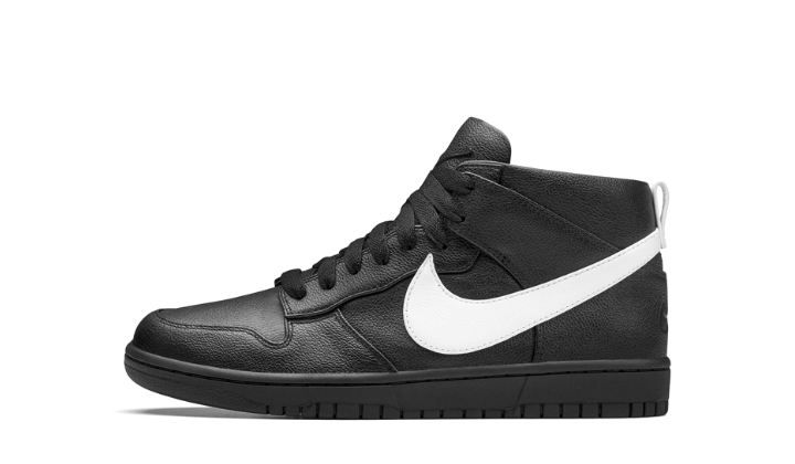 NikeLab Dunk Lux Chukka x Riccardo Tisci black