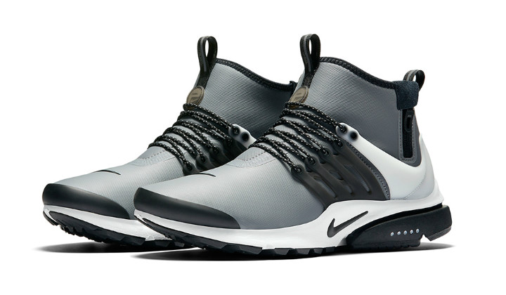 best sneakers 19a9b 235e9 ... get nikeairprestomidutility 92656 2eef3 get nikeairprestomidutility  92656 2eef3  discount code for nike air presto silver metallic and black ...