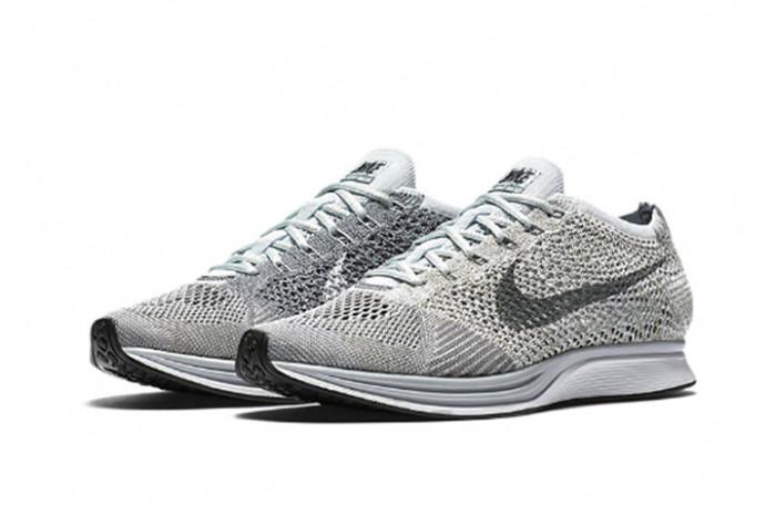 Llegan las Nike Flyknit Racer Pure Platinum
