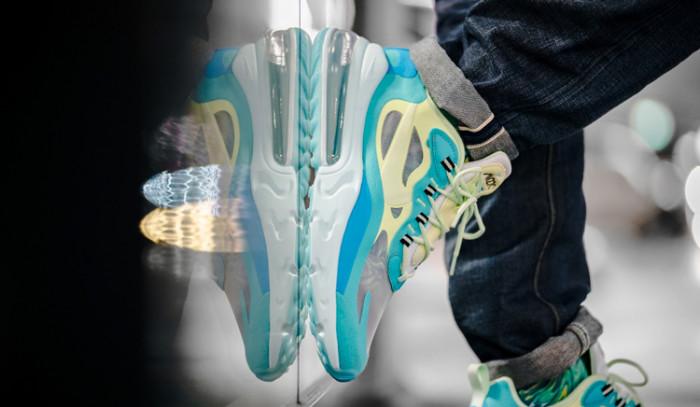 Las nuevas Nike Air Max 270 React translúcidas!