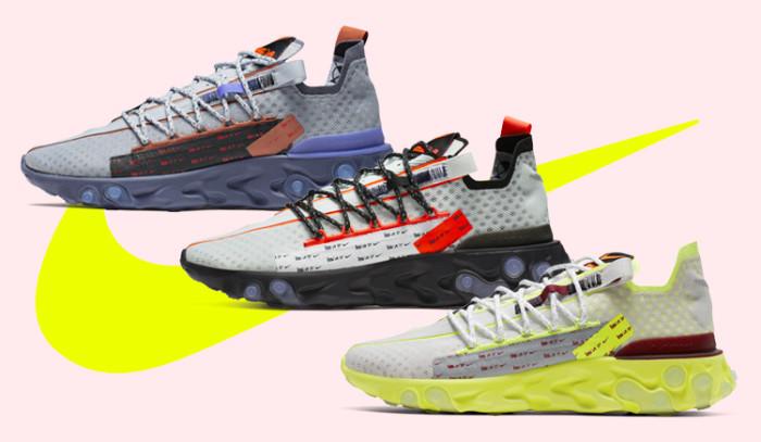 Las nuevas Nike React Ispa están dispuestas a reventar este verano