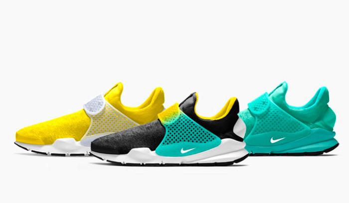 Nuevas opciones para las Nike Sock Dart iD