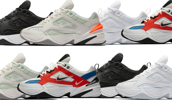 Nuevos colores de Nike M2K Tekno para Hombre