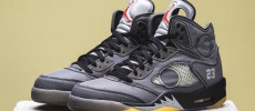 Chequea las nuevas Off-White x Air Jordan 5