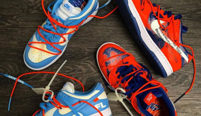 Nuevas Off-White x Nike Dunk Low x Futura!!!