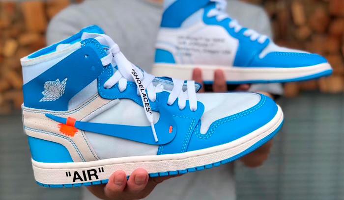 Nuevas imágenes de las Off White x Air Jordan 1 UNC