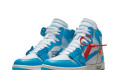 Off White x Jordan 1 UNC