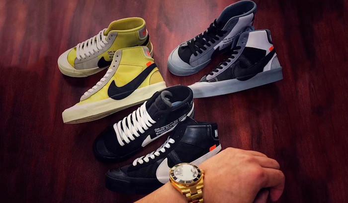 Primeras imágenes de los nuevos colores de las Off-White x Nike Blazer