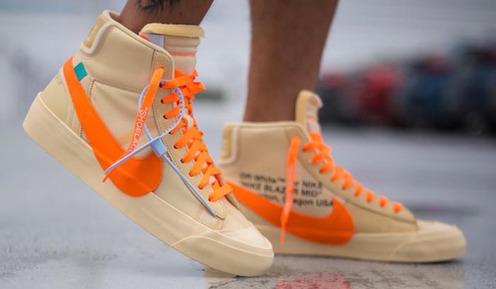 Así quedan las Off-White x Nike Blazer Mid