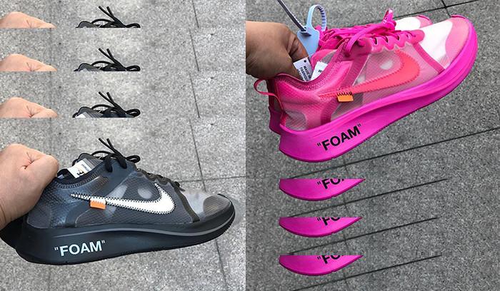 Lanzamiento de las Off-White x Nike Zoom Fly en dos nuevos colorways