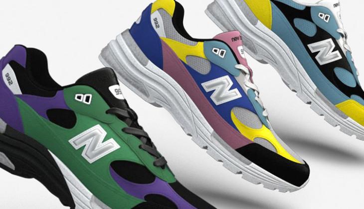 Ahora podemos personalizar unas New Balance 992!!!