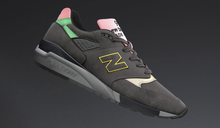 New Balance 998 Perforated Suede BCK SRS