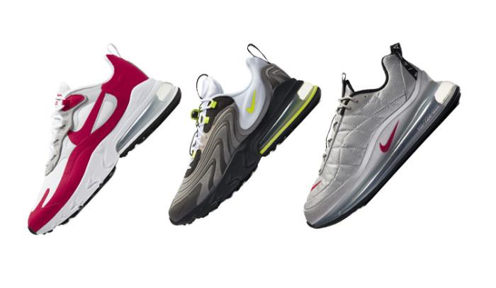 Re-interpretación de las Nike Air Max clásicas