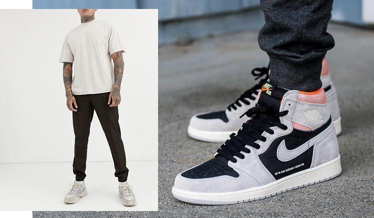 que-pantalones-llevar-air-jordan-1-high