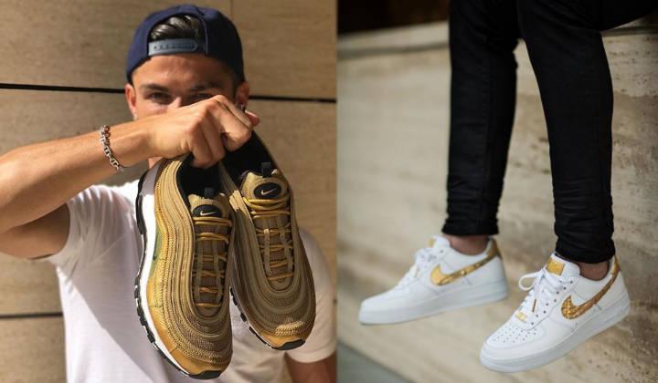 1edea9455 Qué sneakers lleva Ronaldo  - Backseries
