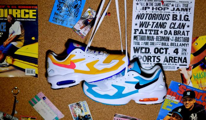 El retorno de las emblemáticas Nike Air Max 2 Light