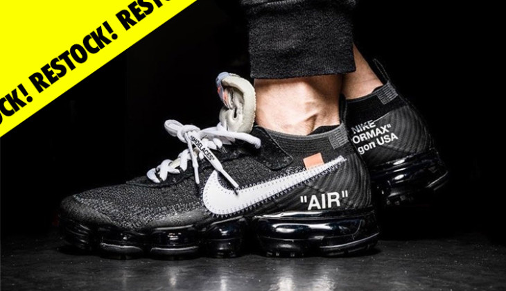 f89081b0032b Habrá restock de las Off-White x Nike Air Vapormax en Slam Jam! - Backseries