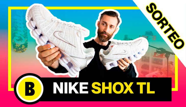 BackseriesTV: Sorteo + Review Nike Shox TL (Vuelven las Nike Muelles)