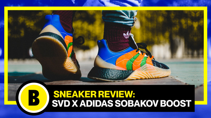 Backseries Youtube: Review SVD x adidas Sobakov Boost