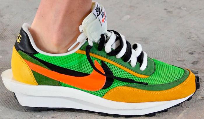 Nuevas Sacai x Nike vistas en Paris Fashion Week