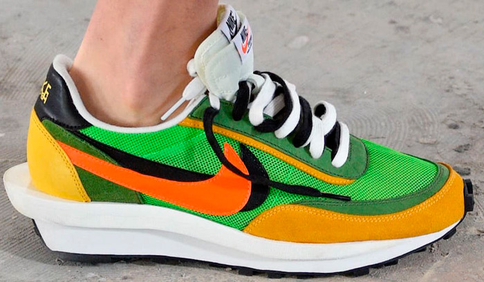 Nuevas Sacai x Nike vistas en Paris Fashion Week Backseries