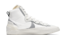 sacai x Nike Blazer Mid White