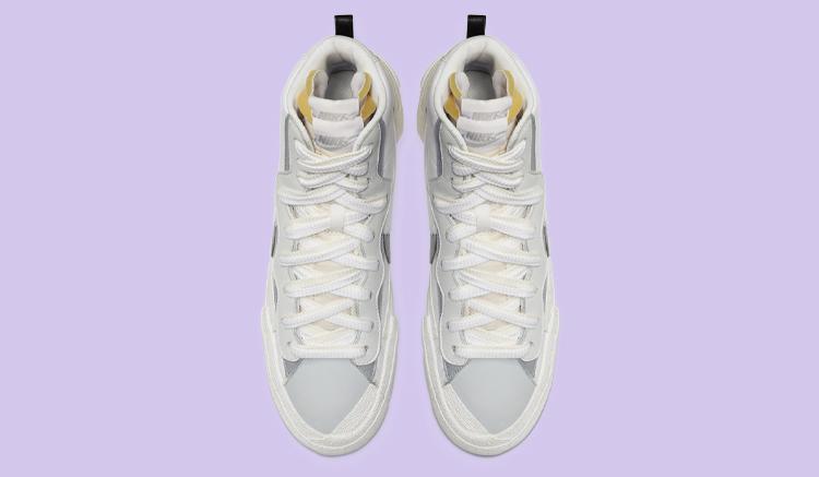 sacai x Nike Blazer Mid White BV0072-100